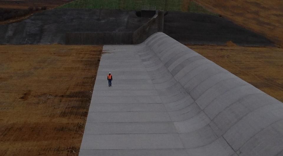 Glendo Dam Emergency Spillway